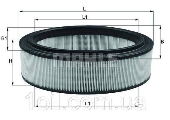 Фильтр воздушный KNECHT LX2844 (LX994)