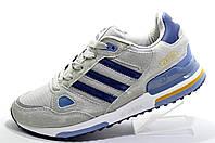 Мужские кроссовки в стиле Adidas ZX750, Gray\Blue\White