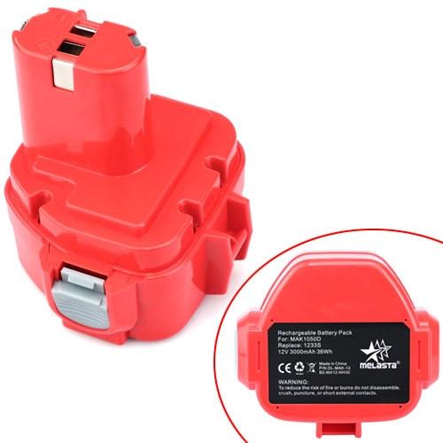 Аккумулятор 3000мАч 12В для Makita 1220 PA12 1222 1235 1235 192598-2