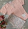 Пижама женская с шортами батальная Bella Secret