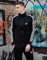 Спортивный костюм мужской Adidas х black осенний весенний / Олимпийка + штаны Адидас