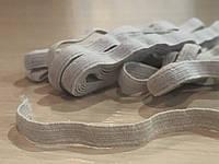 Резинка белая плоская 8 мм