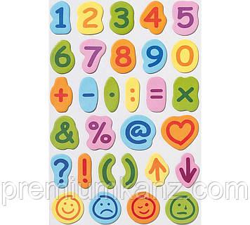 "Самоклеючі цифри і знаки Creative ""Letter Pads"""