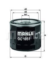 Фільтр масляний KNECHT OC1051 (OC244)