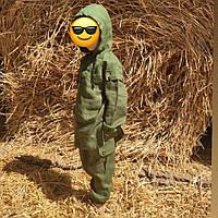 Каміс дитячий і дорослий з натурального льону (костюм штани і сорочка довга) ХС-12ХХЛ, фото 1