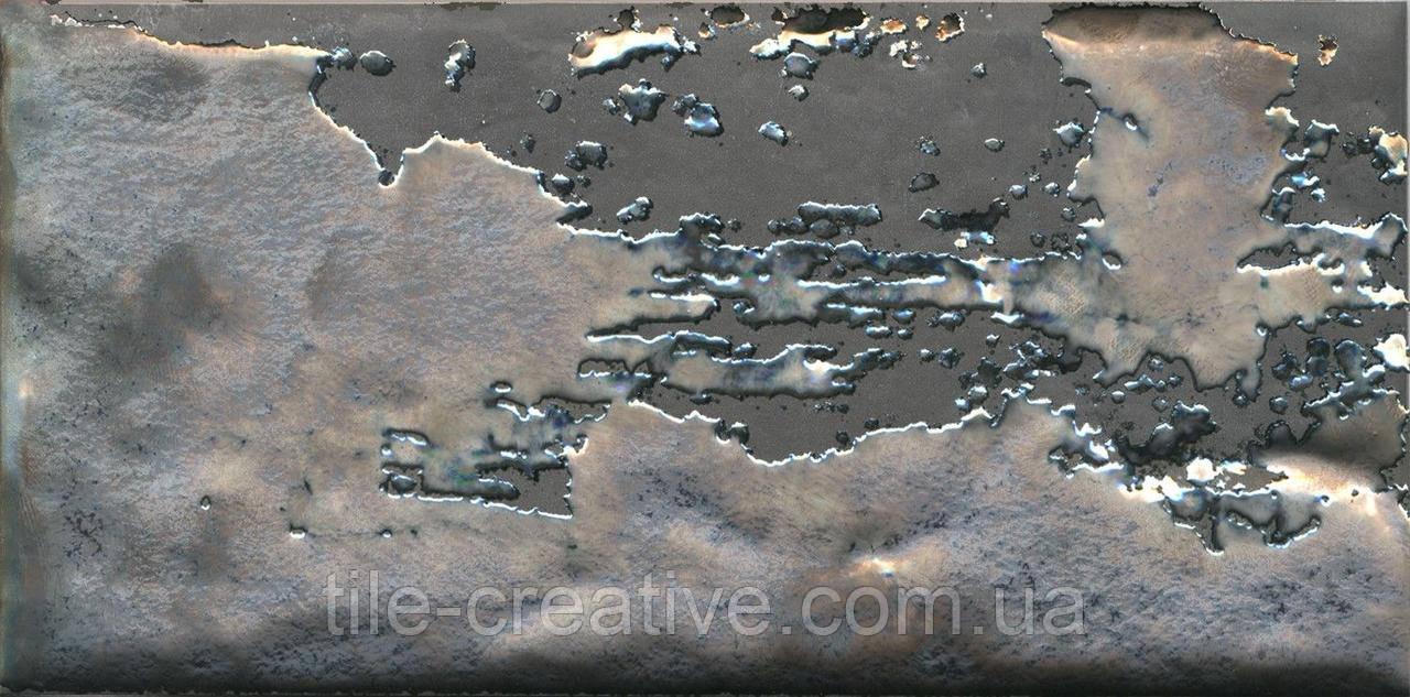 Керамічна плитка Декор Граффіті метал сірий темний 20x9,9x8 TG\C04\19067