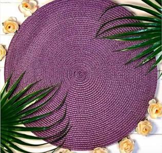 """Коврик сервировочный """"Фиолетовый"""" 38 см, 6610-4"""