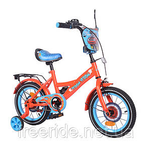 Детский велосипед TILLY Vroom 14 T-214212 red + blue
