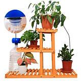 Таймер система капельного полива комнатных растений Aqualin YL22079 с АКБ, фото 2