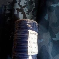 Резинка шляпная круглая 2.5 мм синяя