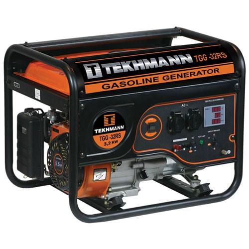 Генератор бензиновый Tekhmann TGG-32 RS : 4-тактный двигатель | 3200 Вт
