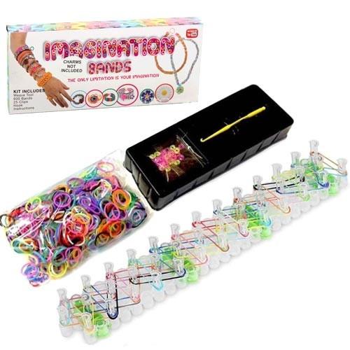 Набор для плетения фенечек браслетов из резинок