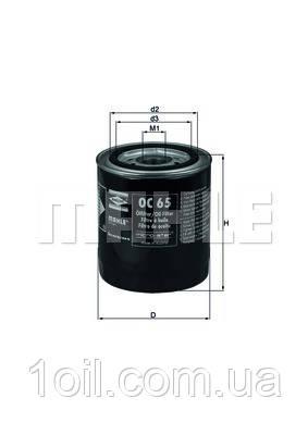 Фильтр масляный KNECHT OC65