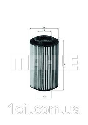 Фильтр масляный KNECHT OX153/7D1Eco