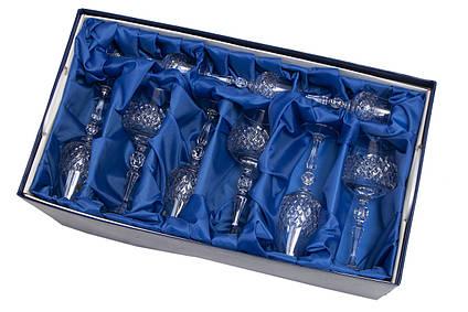 Набор изделий Классик в подарочной упаковке с тканью, хрусталь, (7841/1)