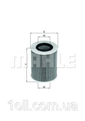 Фільтр масляний KNECHT OX437D