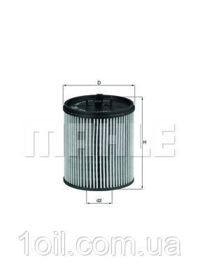 Фильтр масляный KNECHT OX182D