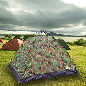 Палатка автоматическая, 4-х местная, камуфляж, фото 2