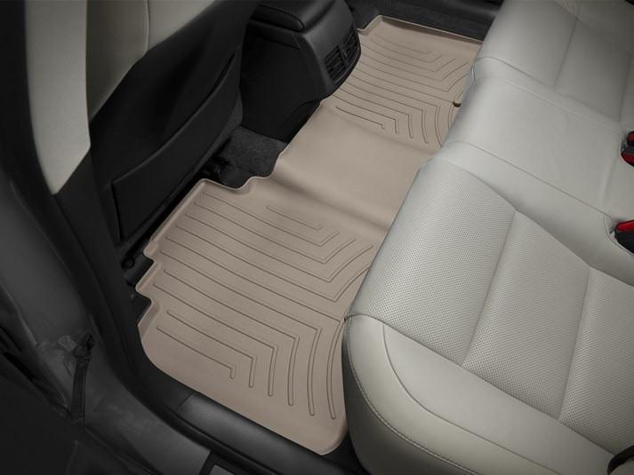 Ковры резиновые WeatherTech Lexus ES 2013-2018 задние бежевые