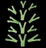 Детский скалодром «Невероятные веточки на каркасе», Размер 1520*1520 мм, фото 4