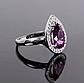 Серебряное кольцо с Александритом, 2312КЦА, фото 3