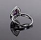 Серебряное кольцо с Александритом, 2312КЦА, фото 4