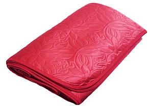 Покрывало Zastelli полуторное 160*210 см полиэстер паяное красное Burgundy арт.14010, фото 2