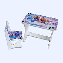 """Детский столик со стулом """"Принцессы бел-30"""""""