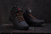 Мужские ботинки кожаные зимние черные Yavgor 552, фото 1