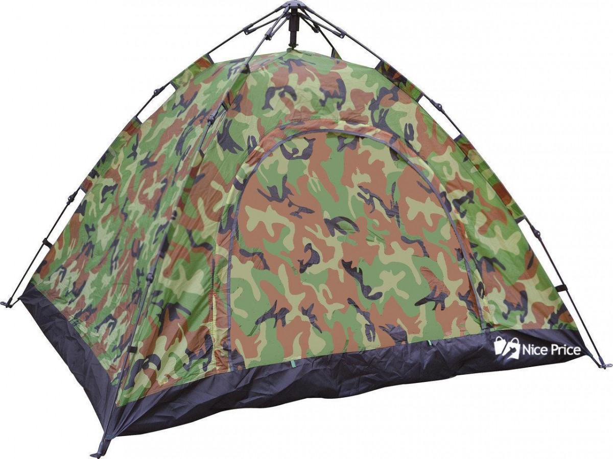 Палатка автоматическая, 4-х местная, камуфляж