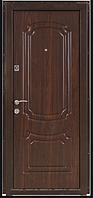 Дверь входная металлическая ПБУ-01 Украина мет/МДФ орех коньячный