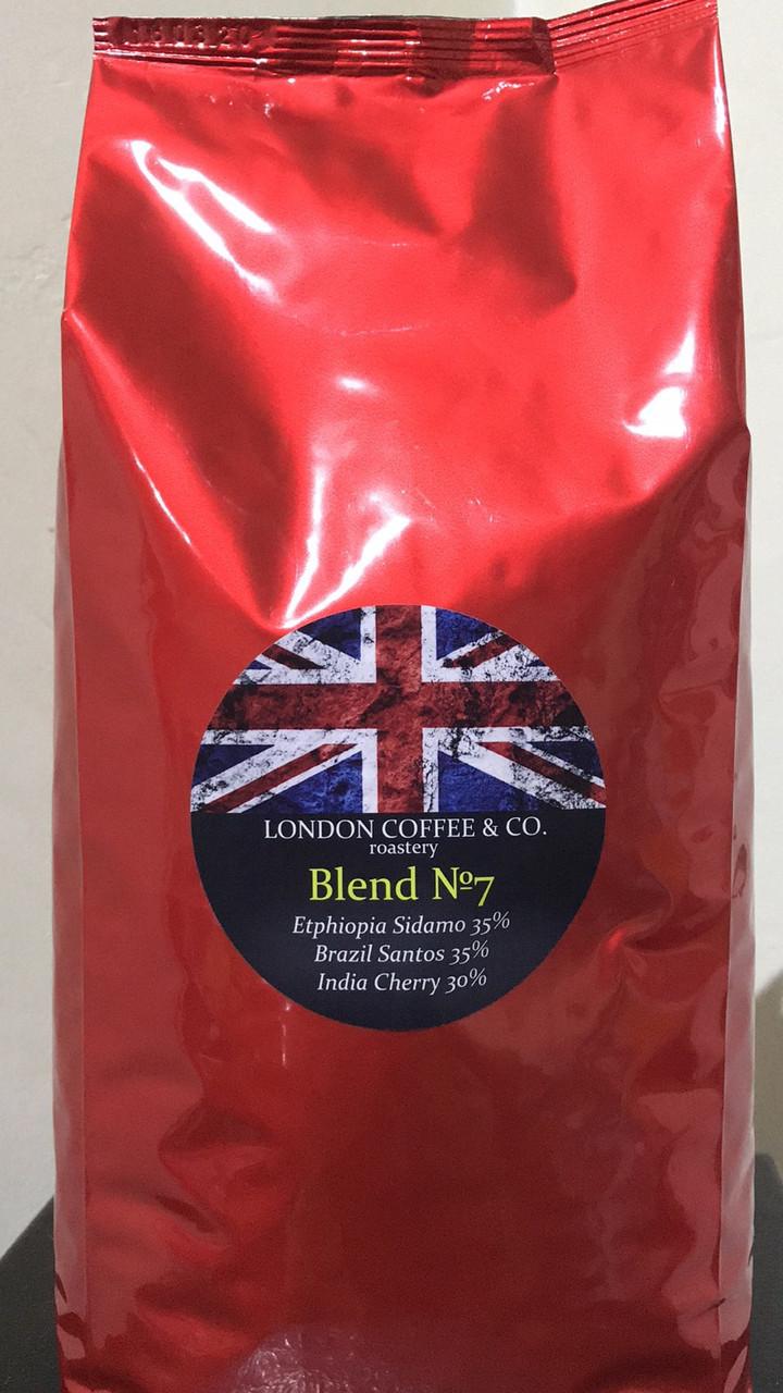 Кофе в зёрнах London Coffee&Co Blend №3 купаж 70% арабика/30% робуста 1000 г