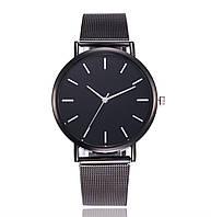 Стильные женские наручные часы «Platinum» (черный)
