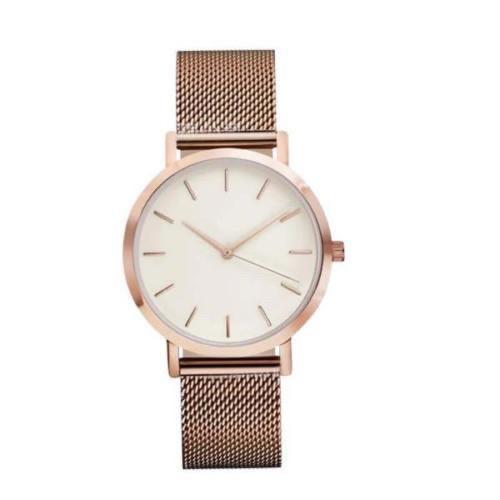 Стильные женские наручные часы «Platinum» (золото)