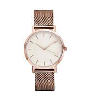 Стильные женские наручные часы «Platinum» (золото), фото 1