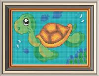 Схема для вишивки бісером Морська черепашка. Арт. СД-076