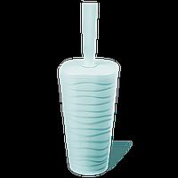 Йоржик для унітазу Planet Welle сіро-блакитний