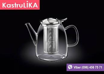 Стеклянный кофейник с фильтром Wilmax Thermo 1л