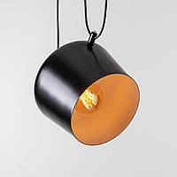 Потолочный светильник Theo черный, фото 1