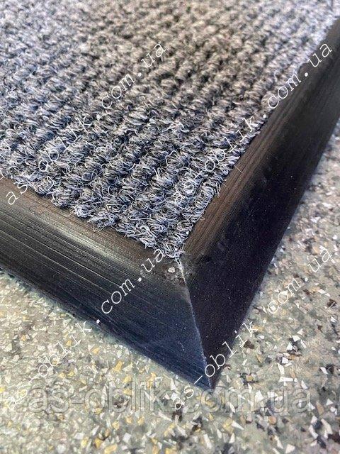 Коврик под дверь на резиновой основе 640х395  мм Чикаго