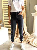 Джинси МОМ графітові жіночі, фото 1