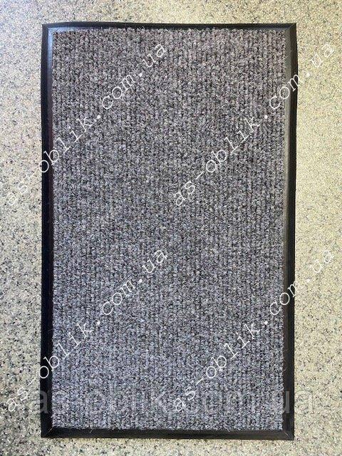 Килим на гумовому підставі 615х455 мм сірий Чикаго