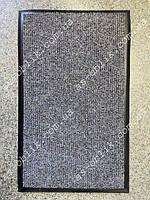 Килим на гумовому підставі 615х455 мм сірий Чикаго, фото 1