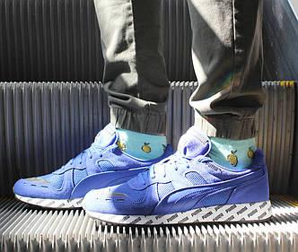 Оригинальные яркие мужские кроссовки Puma RS-100 Summer 369340-02