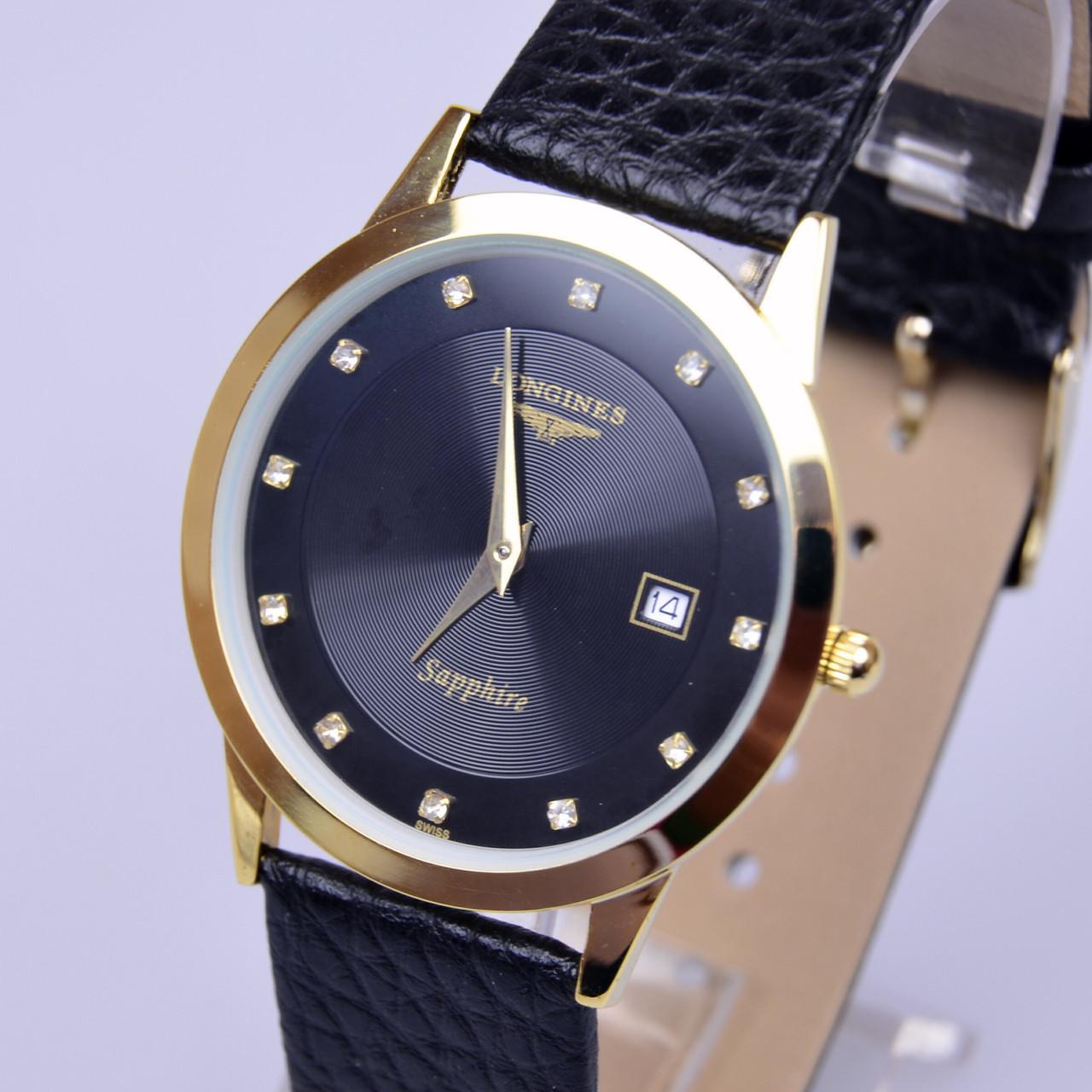 Ультратонкие наручные часы Японский механизм