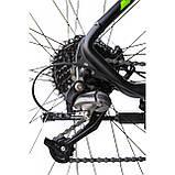 """Велосипед IMPULS MORGAN 29"""" 1,0 черно-салатовый Рама 20"""" 2020г, фото 6"""