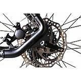 """Велосипед IMPULS MORGAN 29"""" 1,0 черно-салатовый Рама 20"""" 2020г, фото 8"""