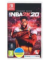 Гра NBA 2K20 (Nintendo)