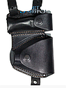 Кобура оперативная двухсторонняя для пистолета Макарова + чехол для запасного магазина и наручников, фото 2