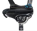 Кобура оперативная двухсторонняя для пистолета Макарова + чехол для запасного магазина и наручников, фото 4